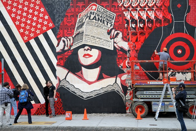 Shepard Fairey (photo by Becki Fuller)