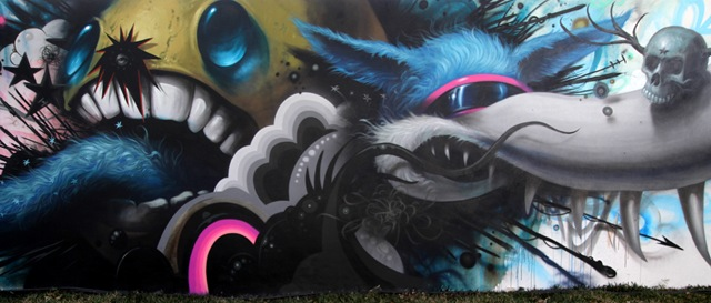 Miami Art Basel: Jeff Soto (photo by Becki Fuller)