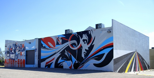 Miami Art Basel: AlterEgo x TesOne (photo by Becki Fuller)