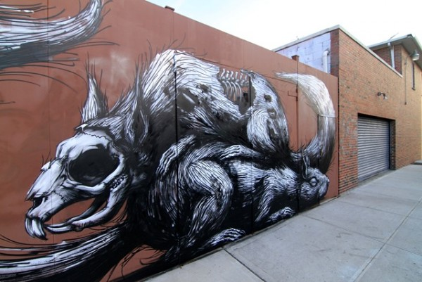 Roa - Brooklyn (photo by Becki Fuller)