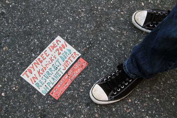 Toynbee Tile in New York City (photo by Luna Park)