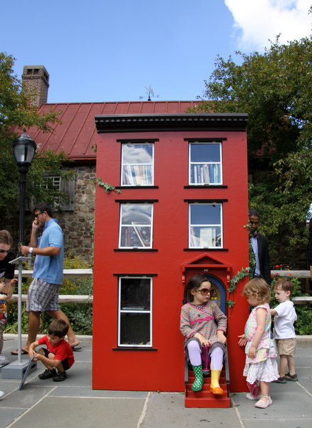 "Leon Reid IV's ""The Hundred Story House"" (photo by Becki Fuller, © Leon Reid IV)"