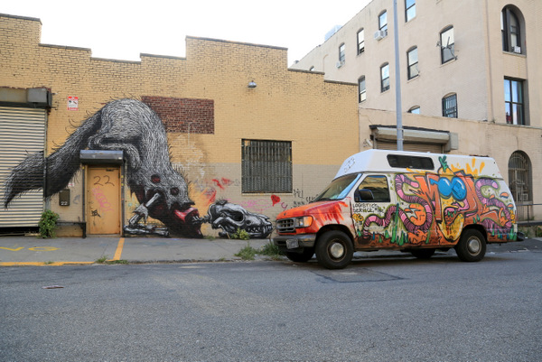 Roa x Smells (photo by Luna Park)