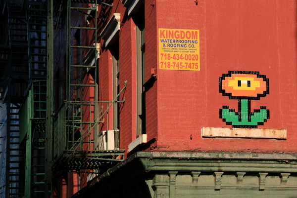 Invader (photo by Luna Park)