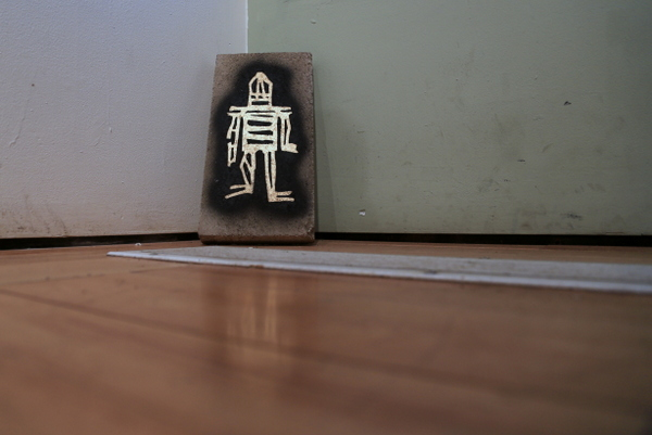 Stikman ... in the house (photo by Luna Park)