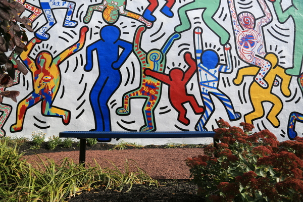 Keith Haring (photo by Luna Park)