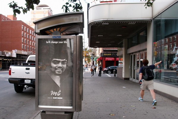Ad Takeover by Clint Mario & Me_NewYork  (photo by Luna Park)