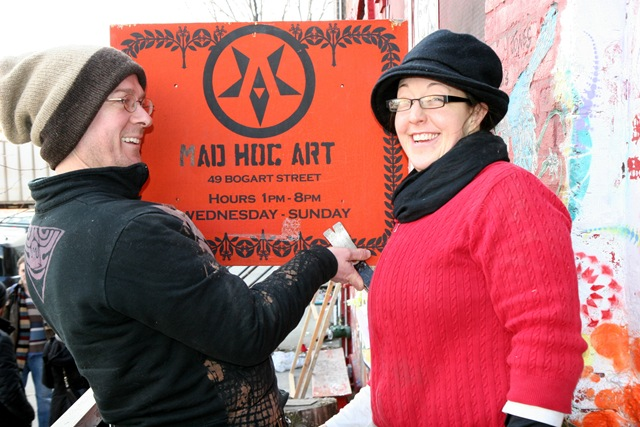 Ad Hoc closing (photo by Becki Fuller)