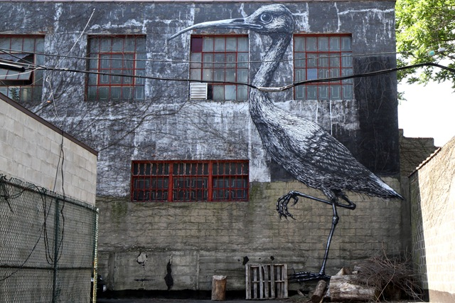 Roa in Brooklyn (photo by Becki Fuller)