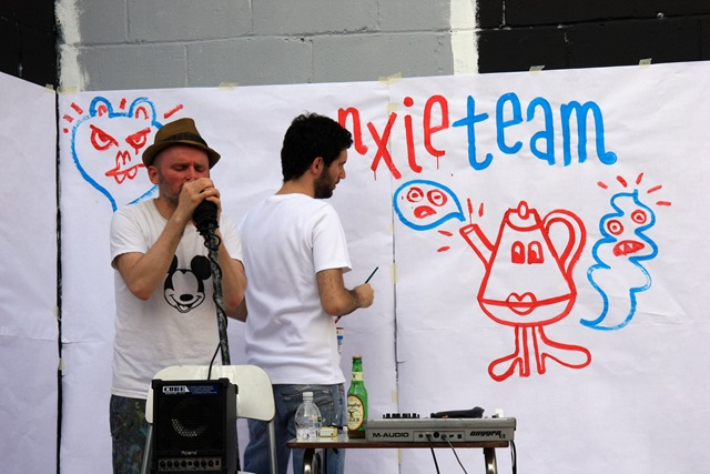 Anxieteam (photo by Becki Fuller)