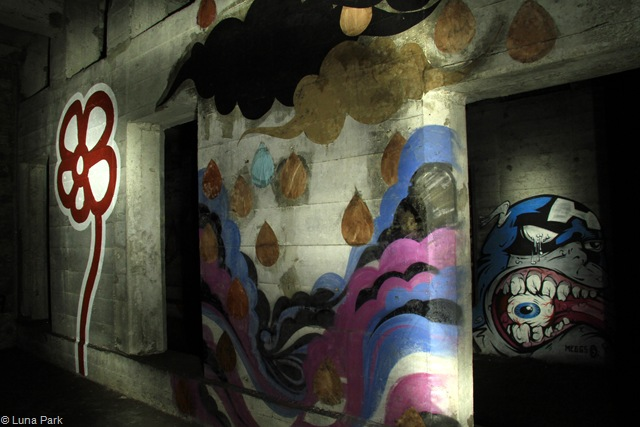 Underbelly: Michael DeFeo x Meggs (photo by Luna Park)