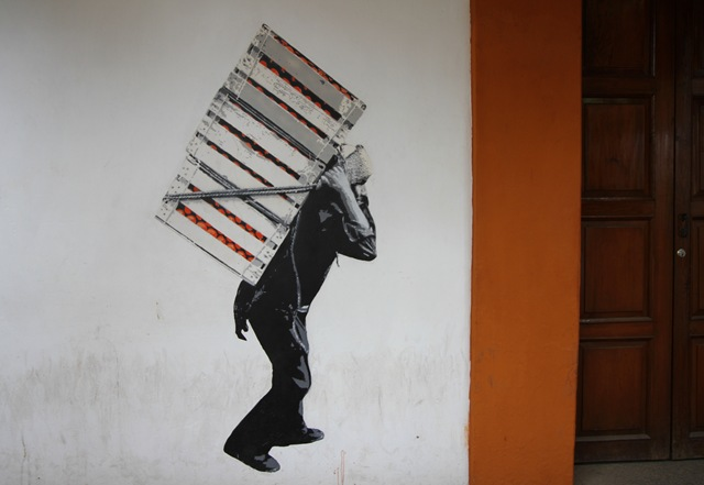 Street Art  in Oaxaca (photo by Becki Fuller)
