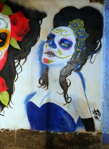 Murals in Oaxaca (photo by Becki Fuller)
