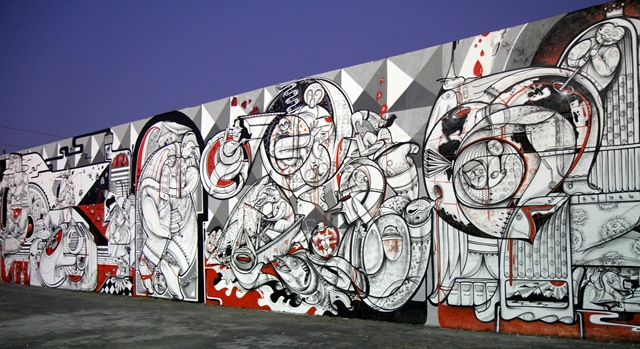 Miami Art Basel: How & Nosm (photo by Becki Fuller)