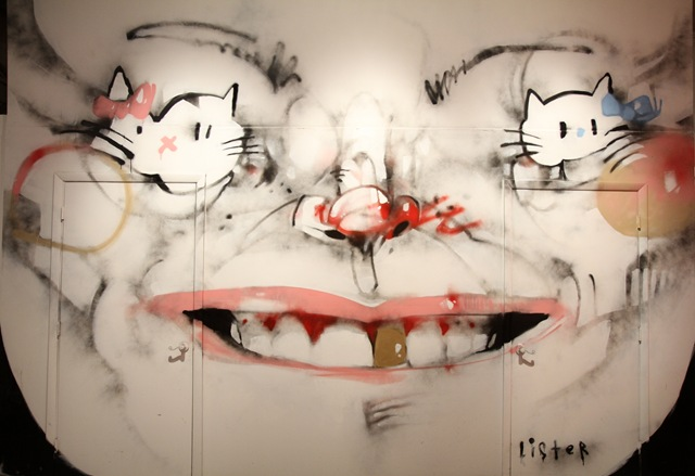 Miami Art Basel: Hello Kitty x Lister (photo by Becki Fuller)