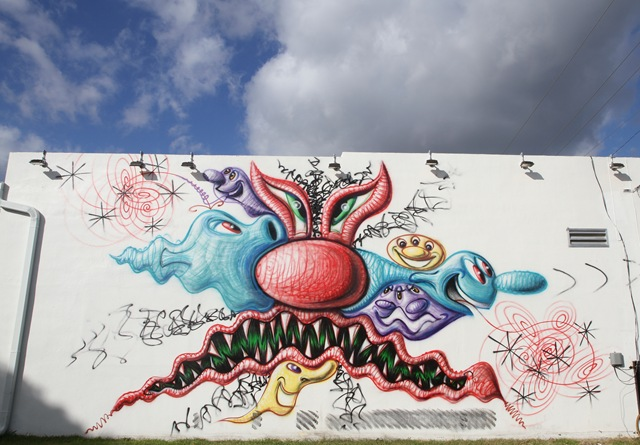 Miami Art Basel: Kenny Scharf (photo by Becki Fuller)