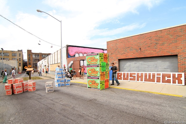 Bushwick Art Park: El Celso (photo by Luna Park)