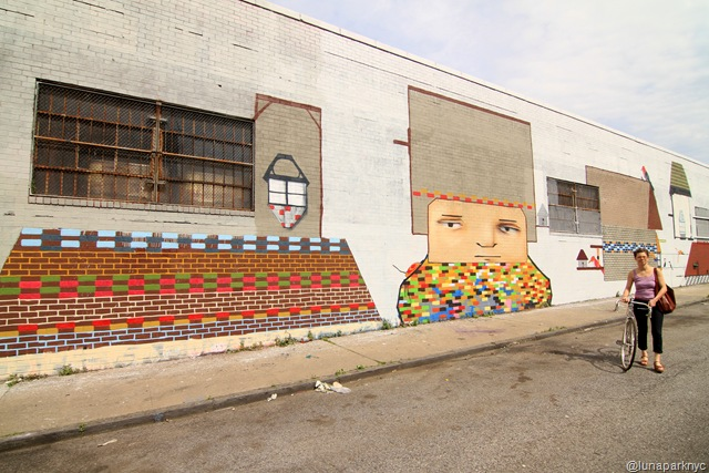 Bushwick Art Park: Veng RWK (photo by Luna Park)